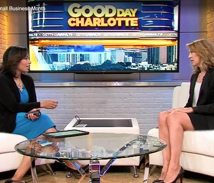 Community Penny Benkeser, owner of SERVPRO of Northwest Charlotte Featured on FOX46 Charlotte