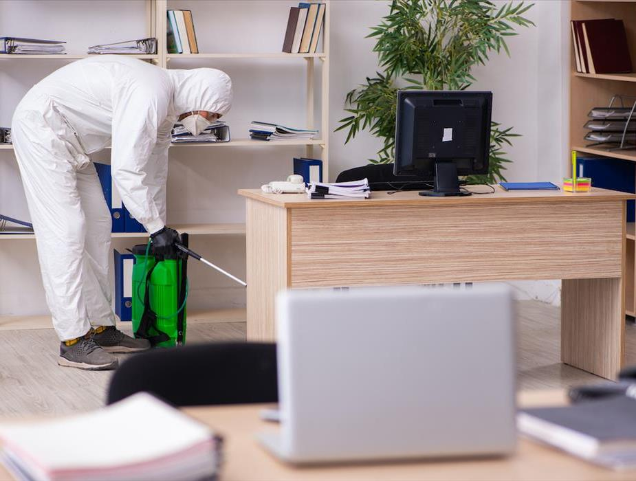 The Deep Clean: Disinfecting workplaces, offices and facilities